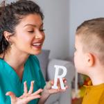 """O """"R"""" é normalmente o ultimo fonema que as crianças aprendem"""